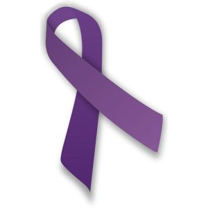 Purple Ribbon DV