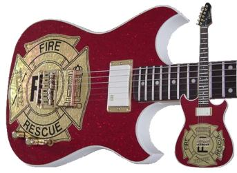 Fire Department Guitar