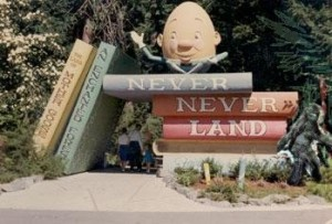 Bigfoot in Never Never Land