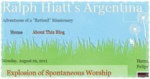 Ralph Hiatt's Argentina