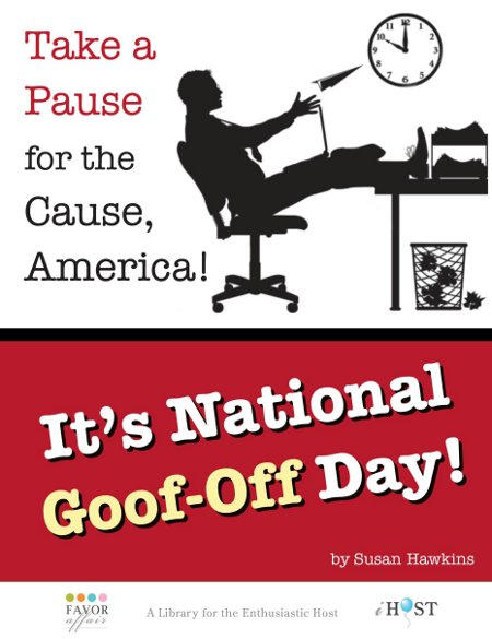 Image result for NATIONAL GOOF OFF DAY