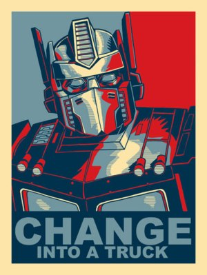 Optimus Prime Change
