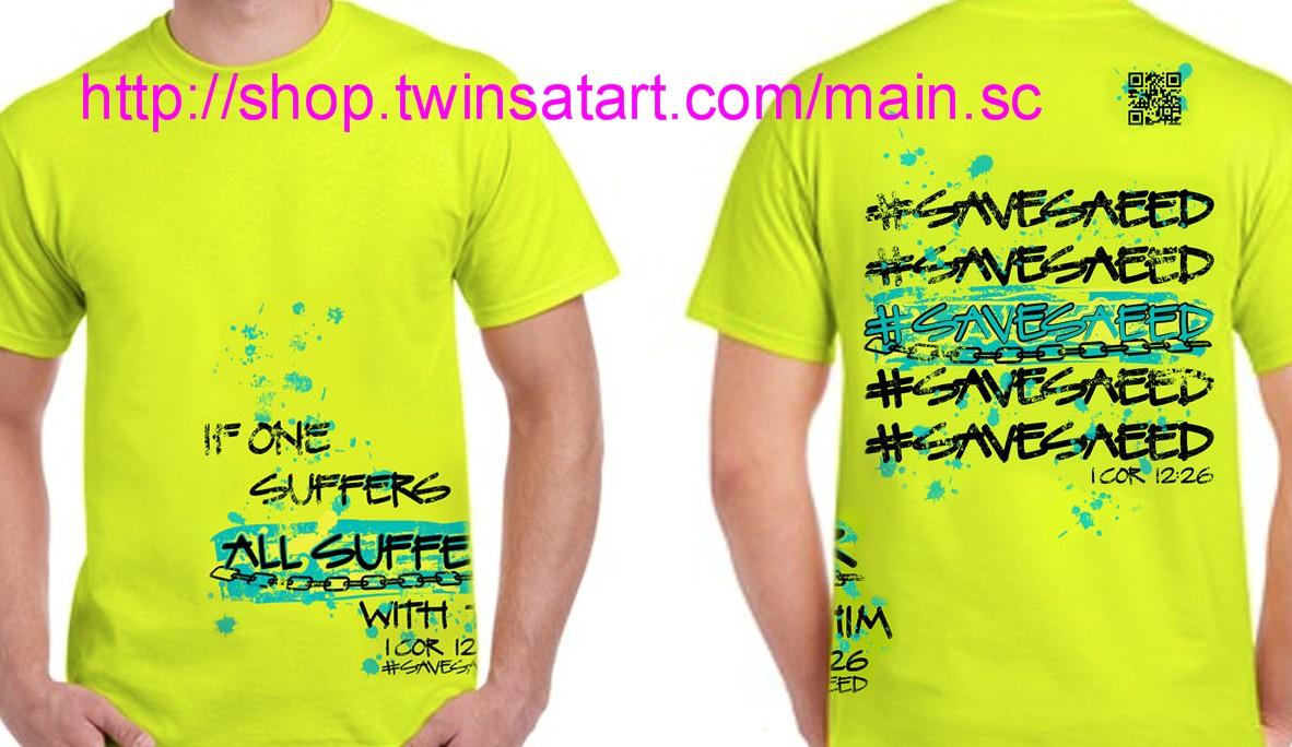 Save Saeed Shirt