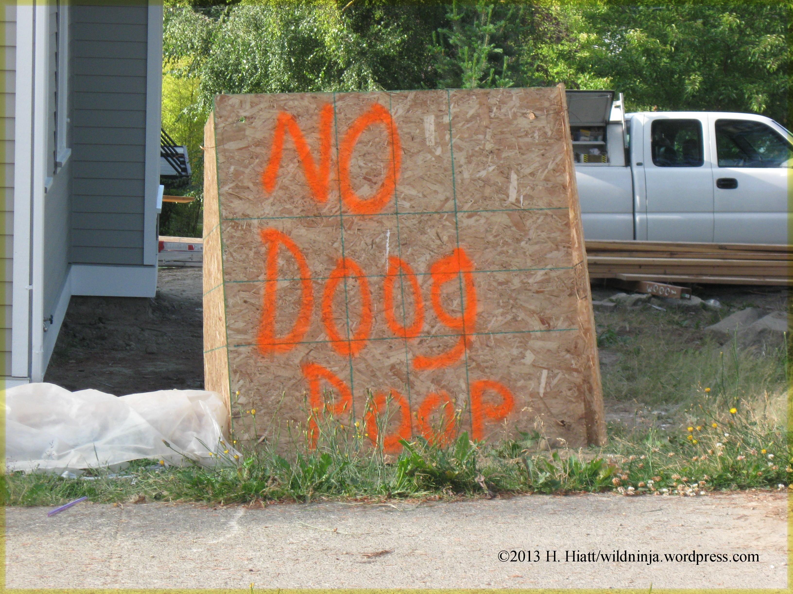 No Doog Poop