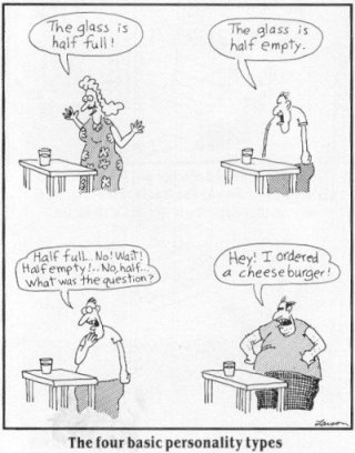 Far Side Personality Types