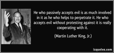 MLK Evil Quote
