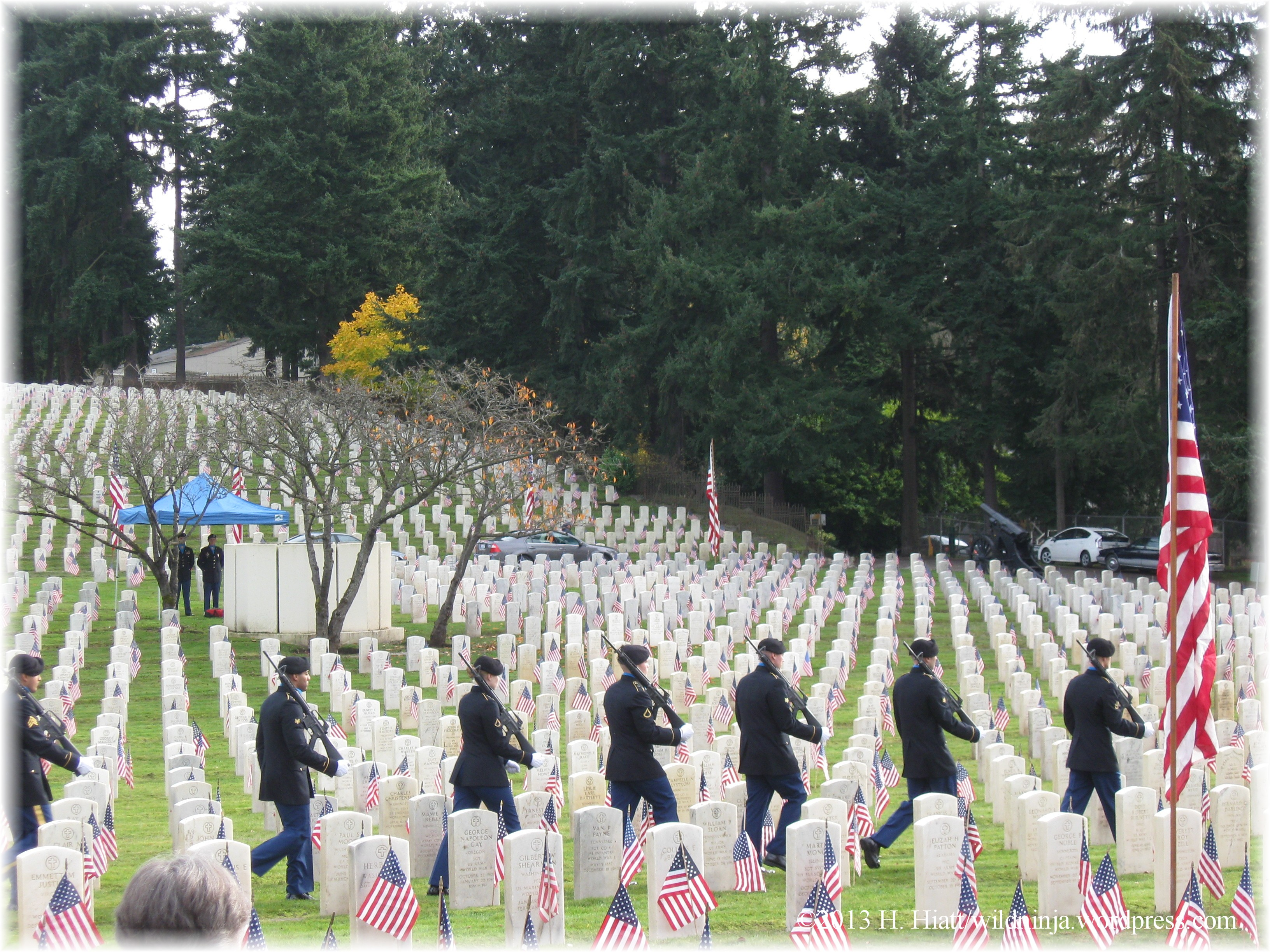 Veterans Day in Seattle | Truth, Justice, and All-American