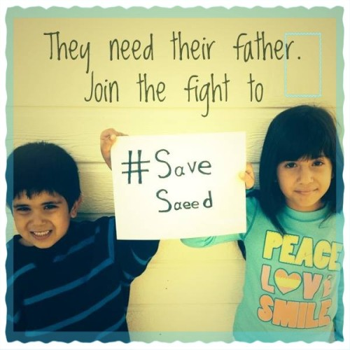 From https://www.facebook.com/SaveSaeed