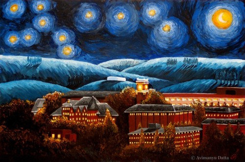 WSU Starry Night