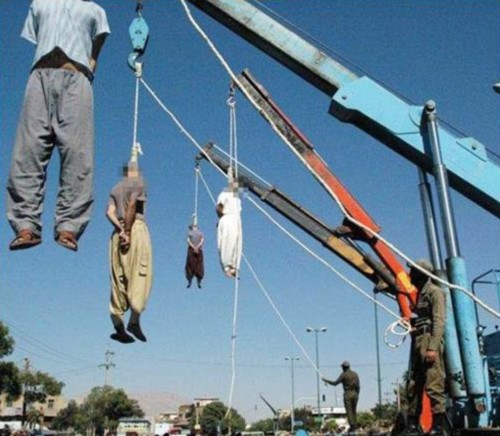 Hangings in Iran. From the Gatestone Institute.