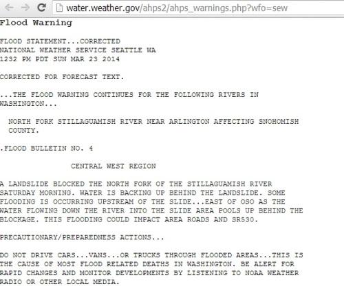 NOAA Hydrologic Data 2