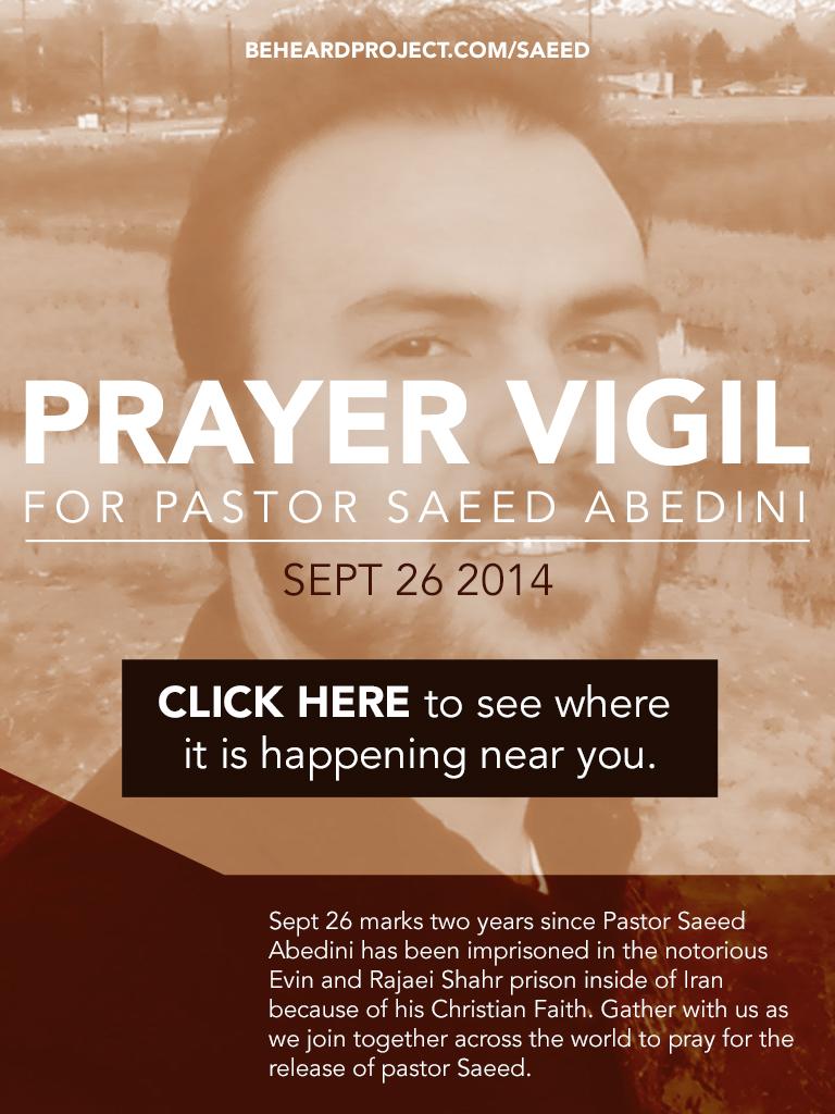 Saeed Prayer Vigil