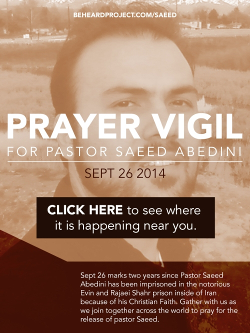 Saeed Prayer Vigil