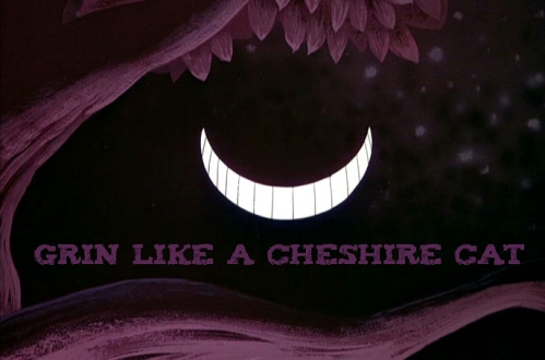 Cheshire Cat Grin