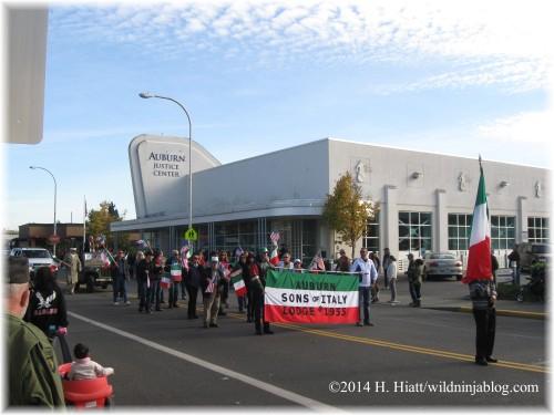 Auburn Veterans Day Parade 2014 34