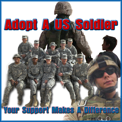 From the Adopt a U.S. Soldier website