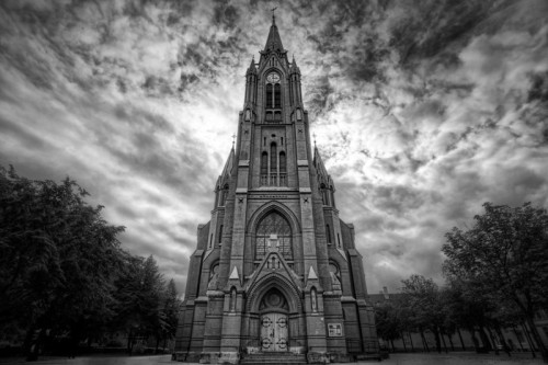 Bergen Church by Conor MacNeill