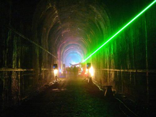 Old Cascade Tunnel Rave from AR15.com. Click on this photo for others of the parties held here.