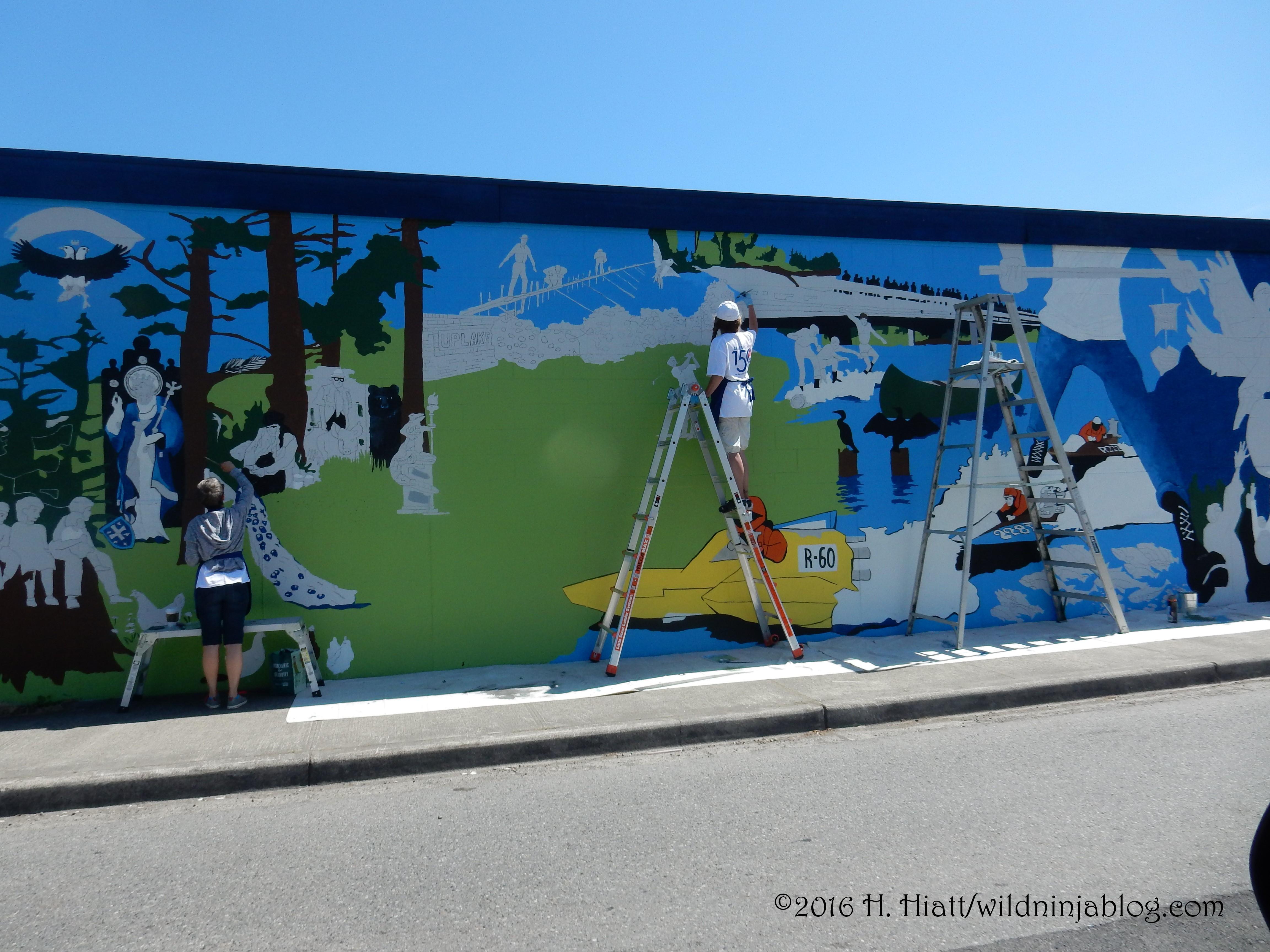 Kenmore Mural 5-12-16 2