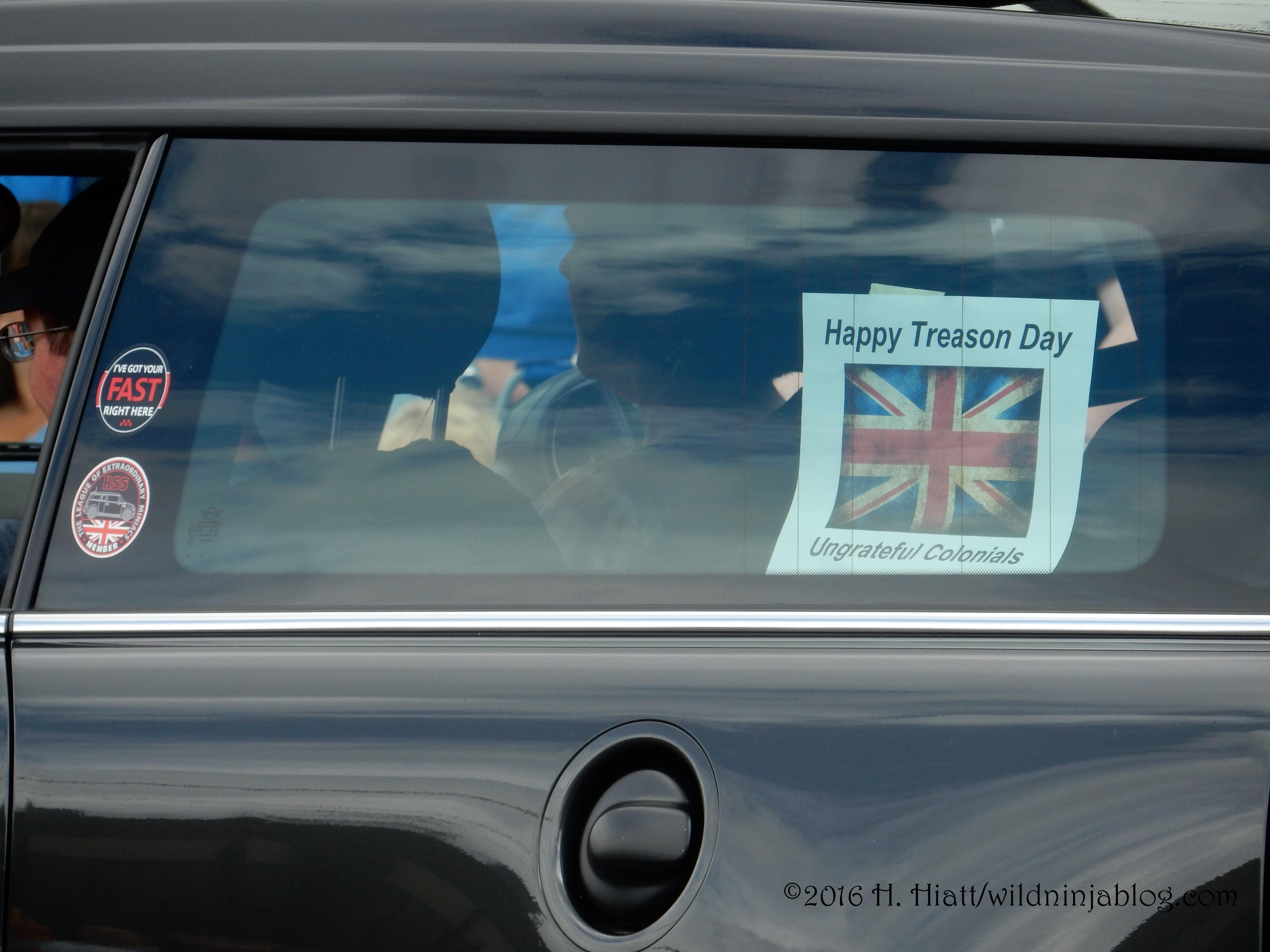 Happy Treason Day 7-16