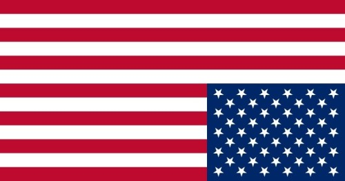 Upside Down American Flag 2