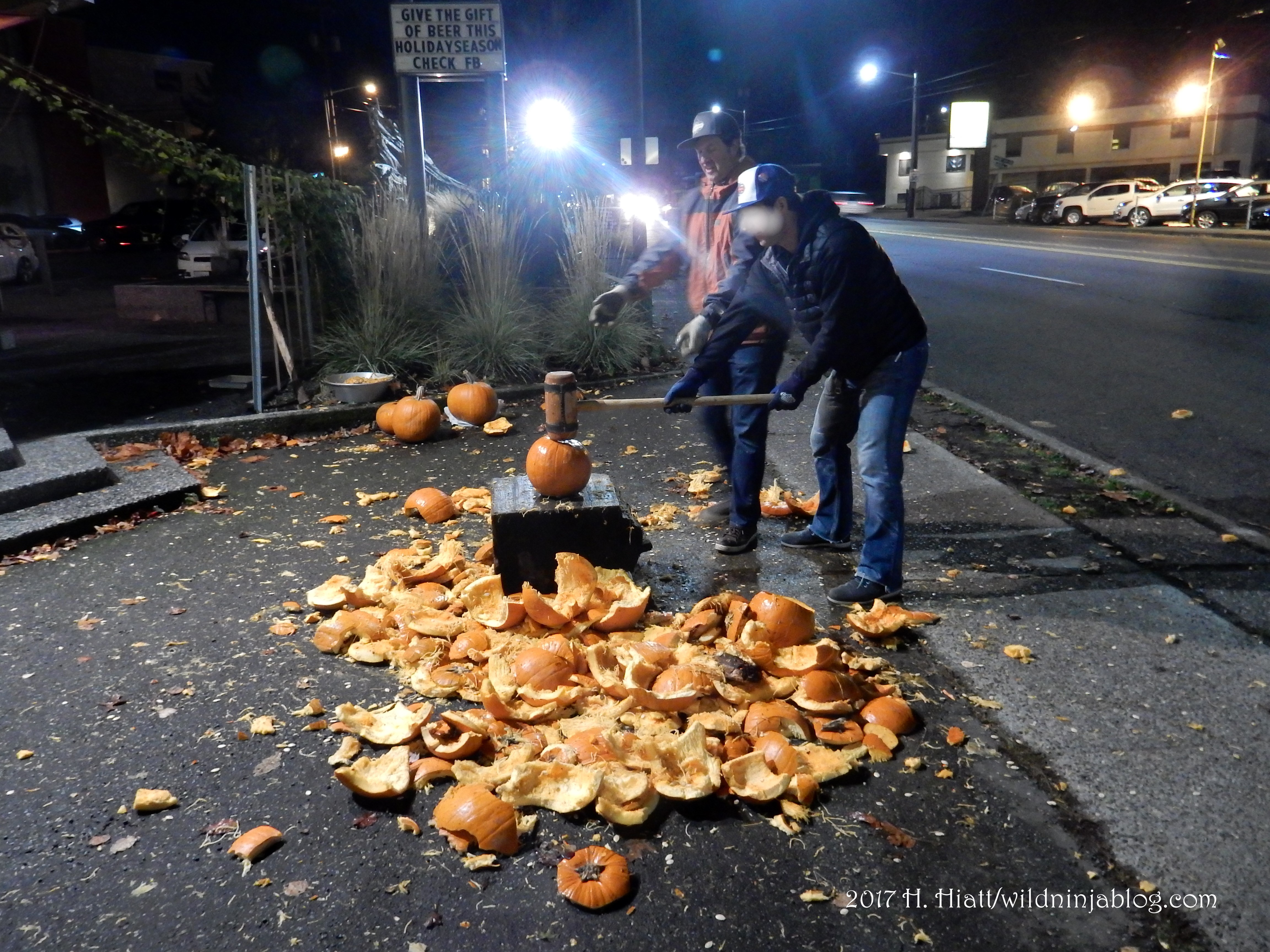 Pumpkin Smash 1